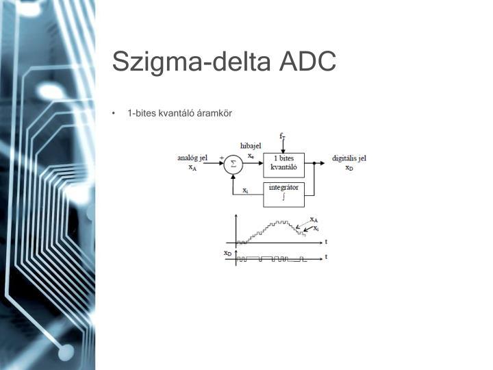 Szigma-delta ADC