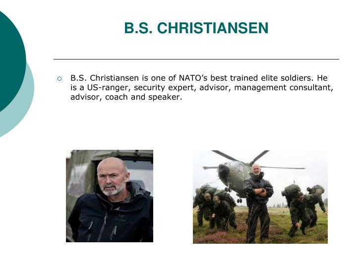 B.S. CHRISTIANSEN