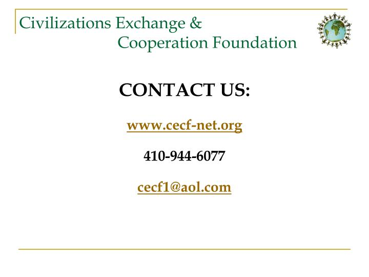 Civilizations Exchange &