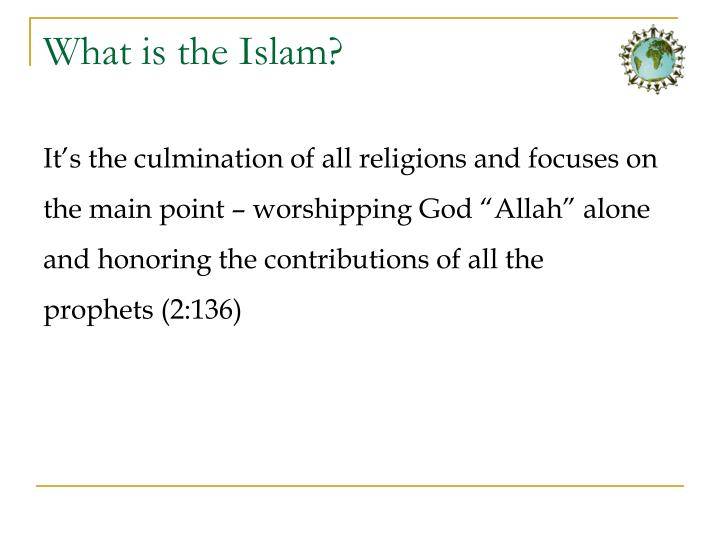 What is the islam