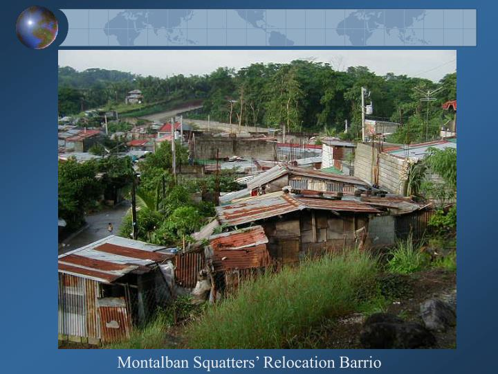Montalban Squatters' Relocation Barrio