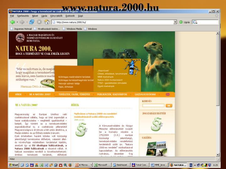 www.natura.2000.hu