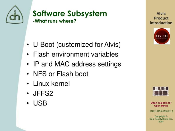 U-Boot (customized for Alvis)