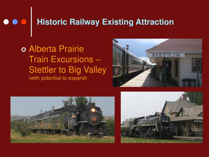 Historic Railway Existing Attraction
