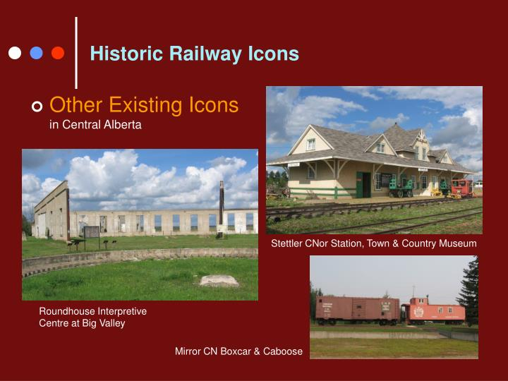 Historic Railway Icons
