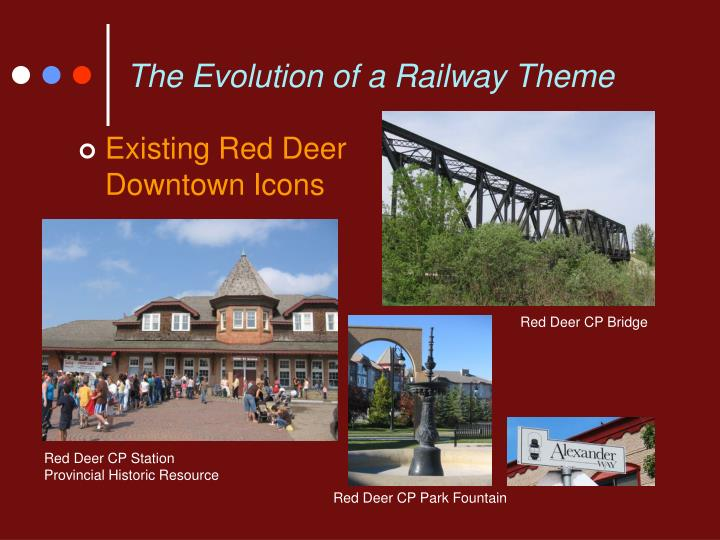The Evolution of a Railway Theme