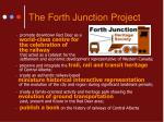 the forth junction project3