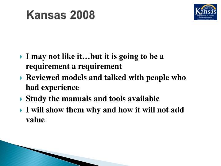 Kansas 2008
