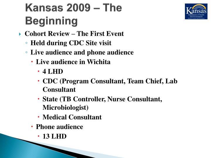 Kansas 2009 – The Beginning