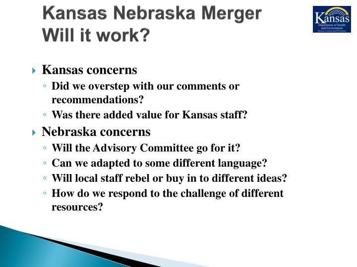 Kansas Nebraska Merger