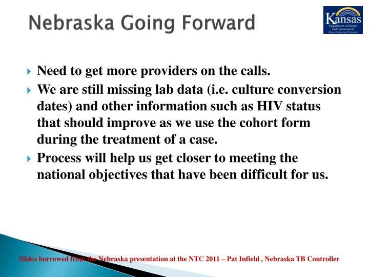 Nebraska Going Forward