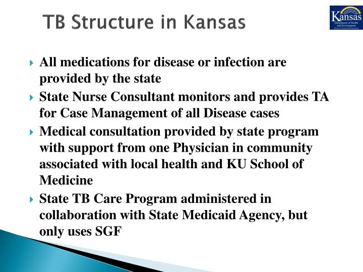 TB Structure in Kansas