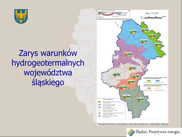 Zarys warunków hydrogeotermalnych województwa