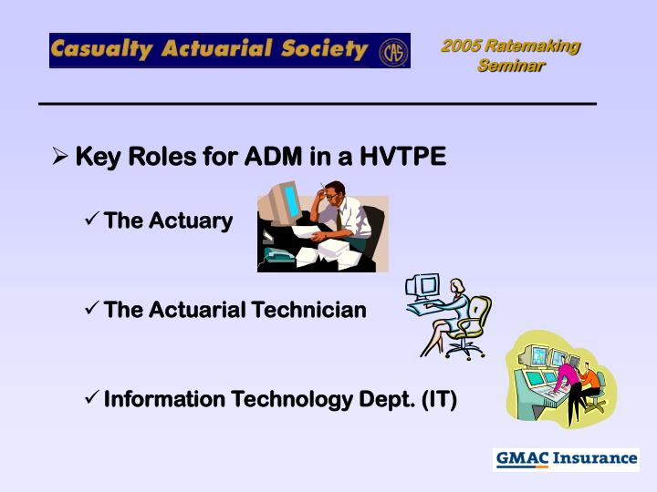 Key Roles for ADM in a HVTPE
