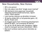 new households new homes