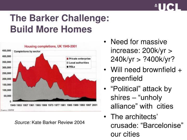 The Barker Challenge: