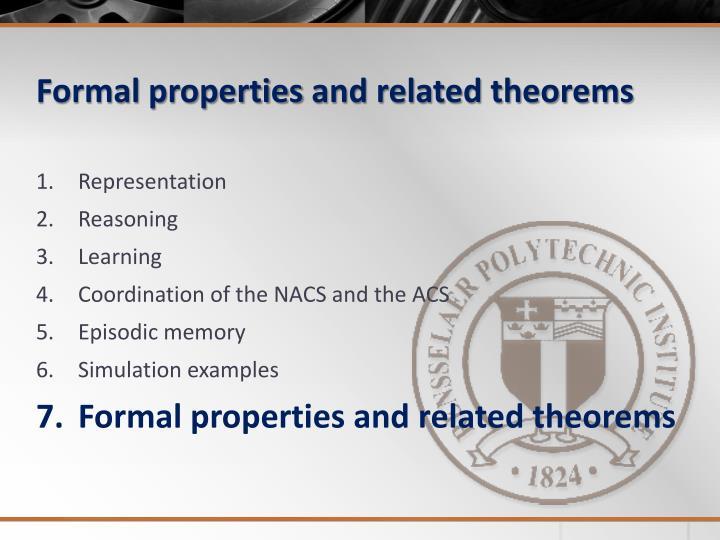 Formal properties