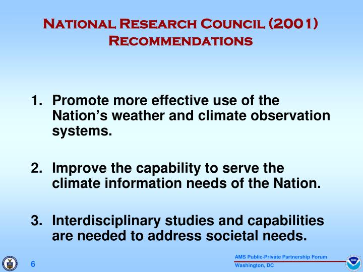 National Research Council (2001)