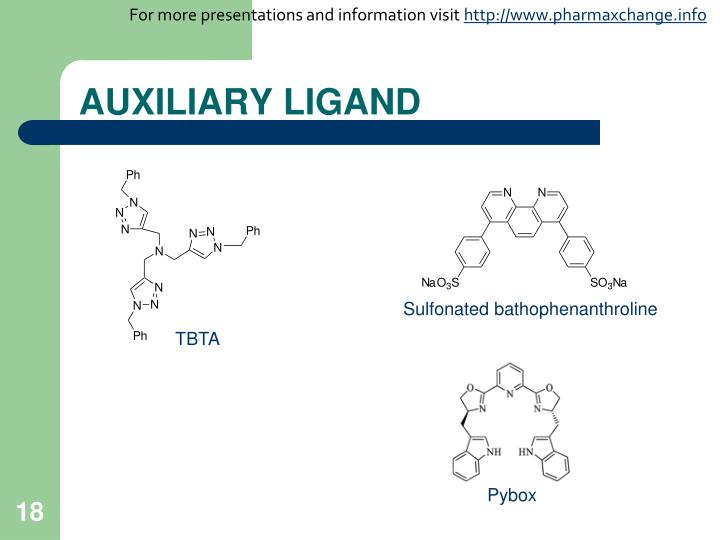 AUXILIARY LIGAND