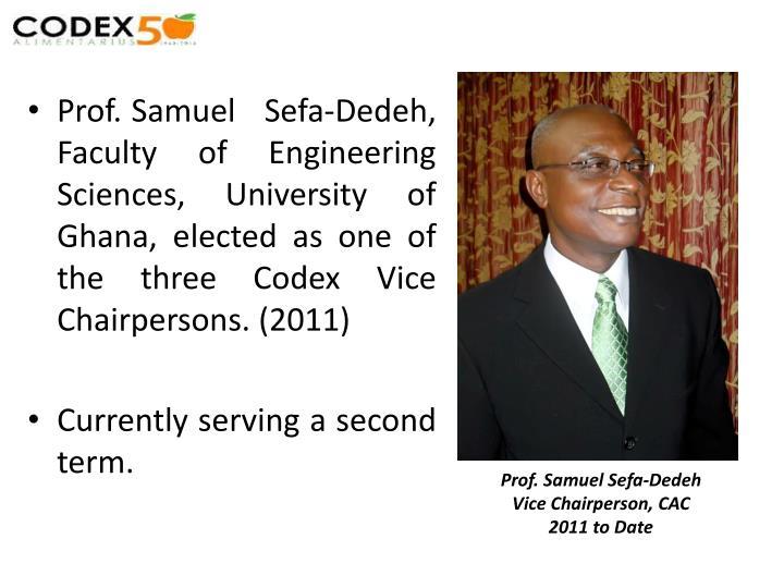 Prof. Samuel