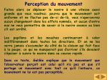 perception du mouvement1