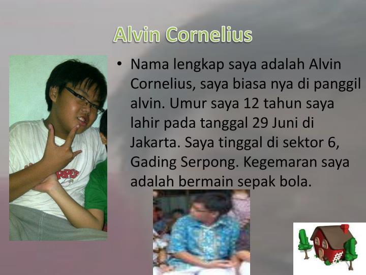 Alvin Cornelius