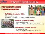 a dynamic international policy1