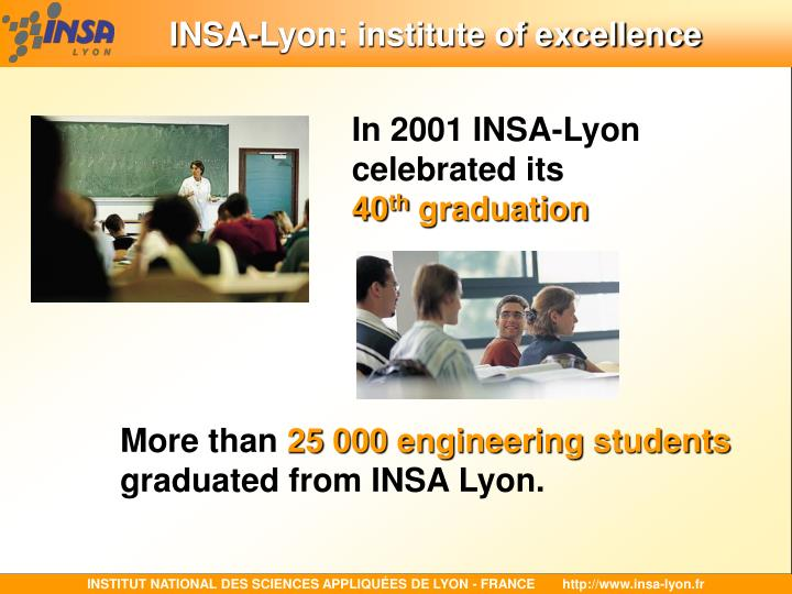 INSA-Lyon: institute of excellence