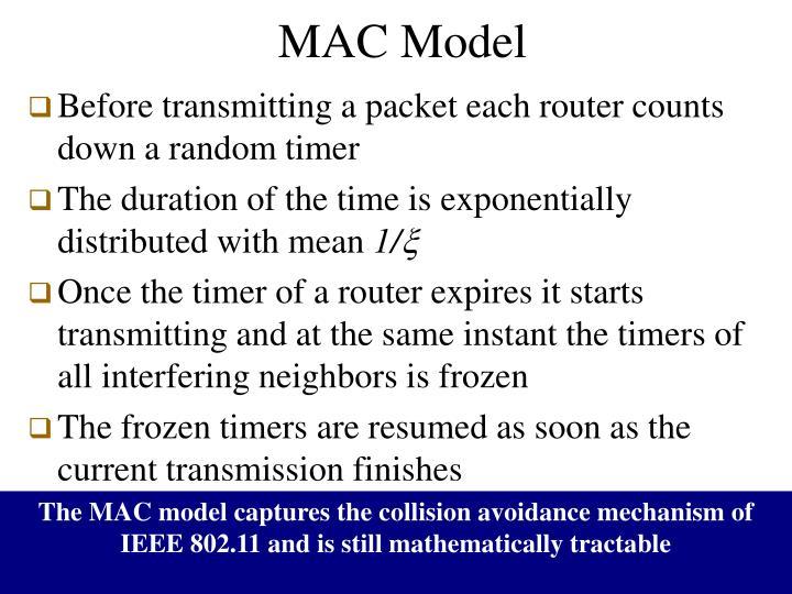 MAC Model