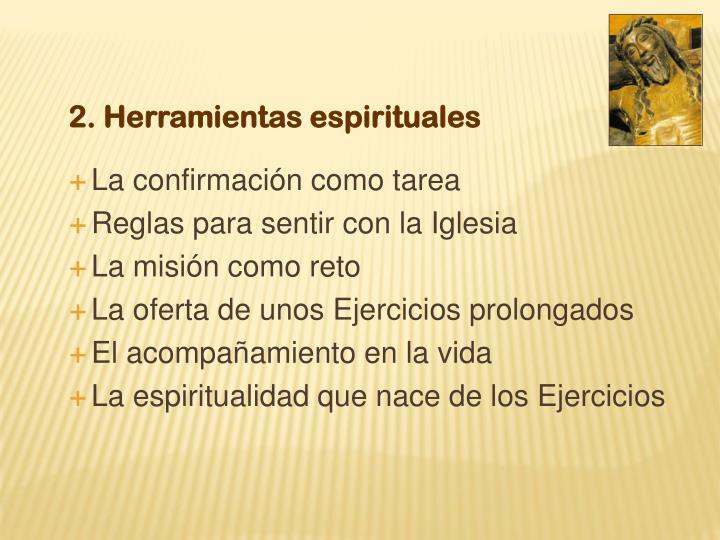 2. Herramientas espirituales