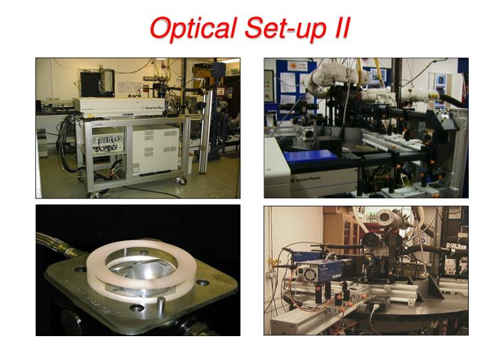 Optical Set-up II