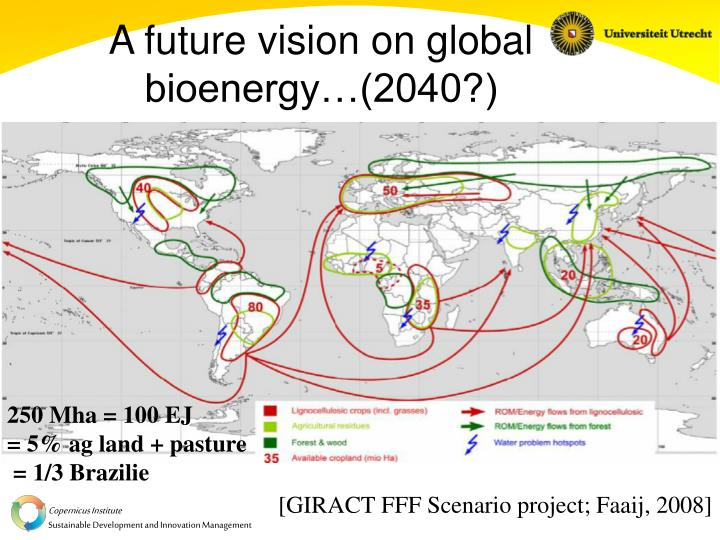 A future vision on global bioenergy…(2040?)