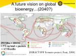 a future vision on global bioenergy 2040