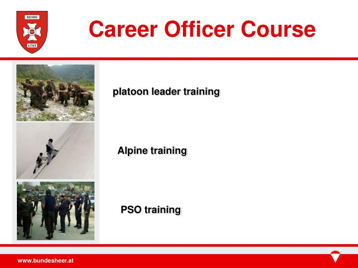 Career Officer Course