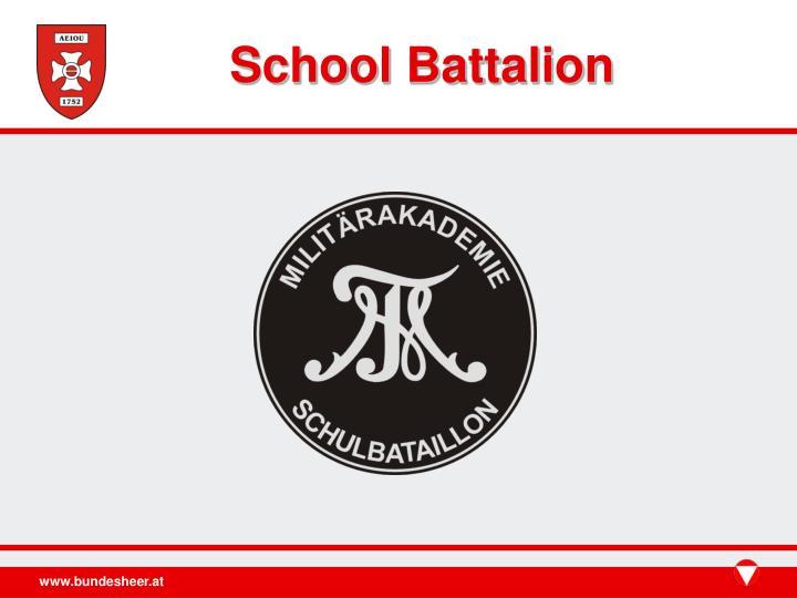 School Battalion