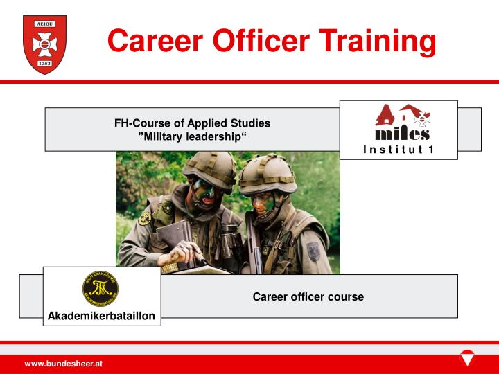 Career Officer Training