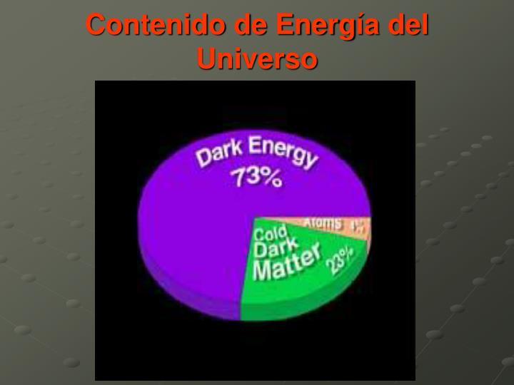 Contenido de Energ
