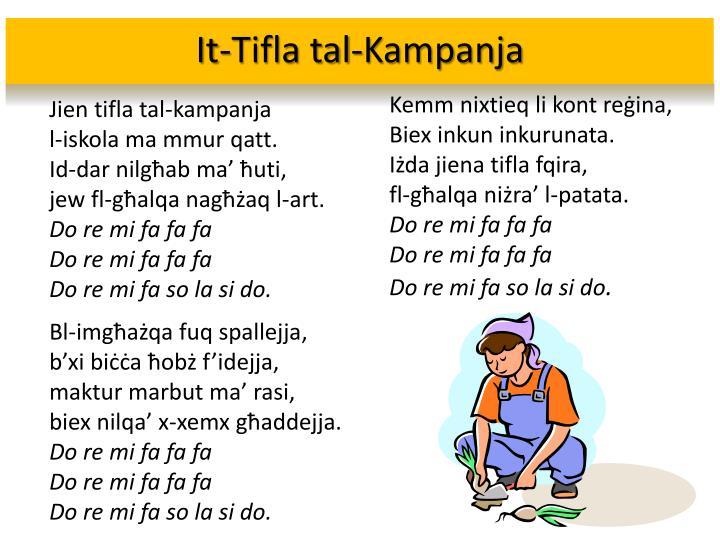 It-Tifla tal-Kampanja