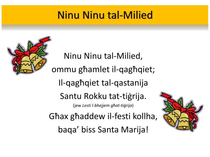 Ninu Ninu tal-Milied