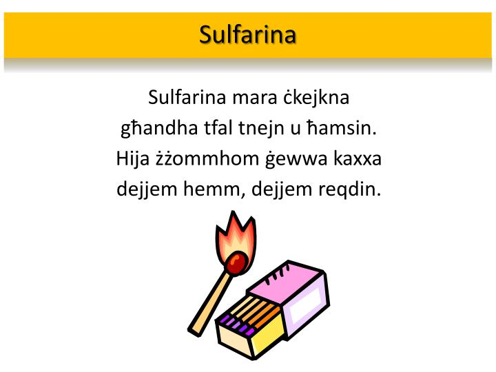 Sulfarina