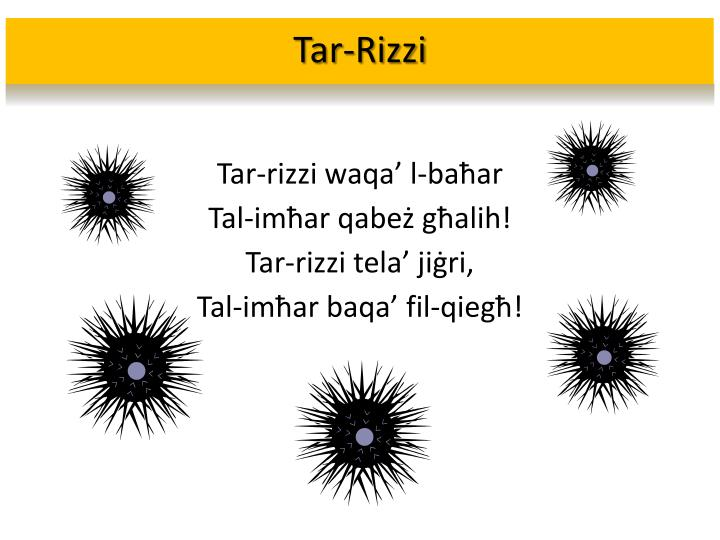 Tar-Rizzi