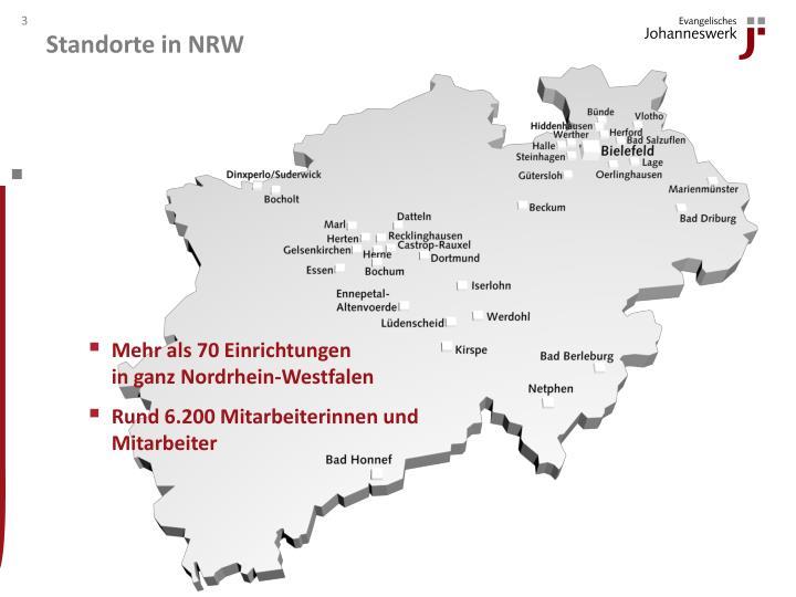 Standorte in NRW