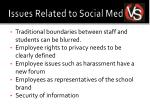 issues related to social media