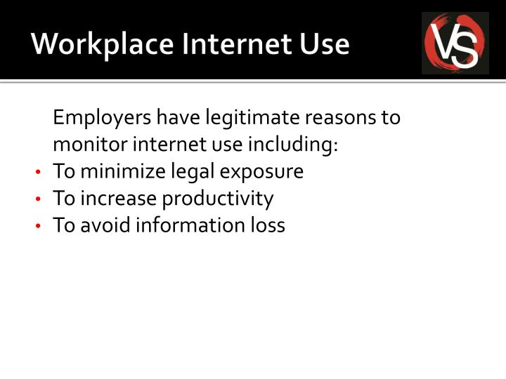 Workplace Internet Use