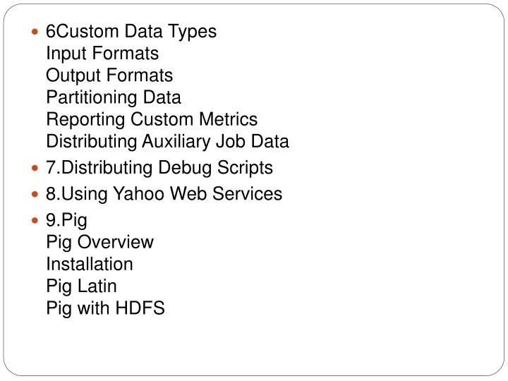 6Custom Data Types