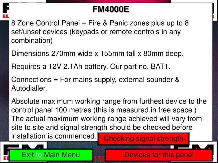 FM4000E