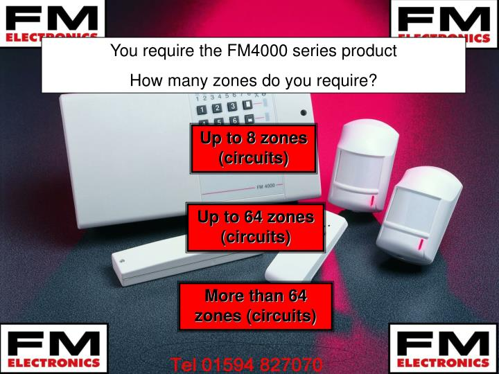 You require the FM4000 series product