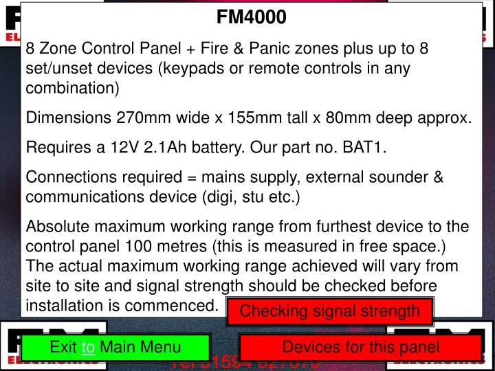 FM4000