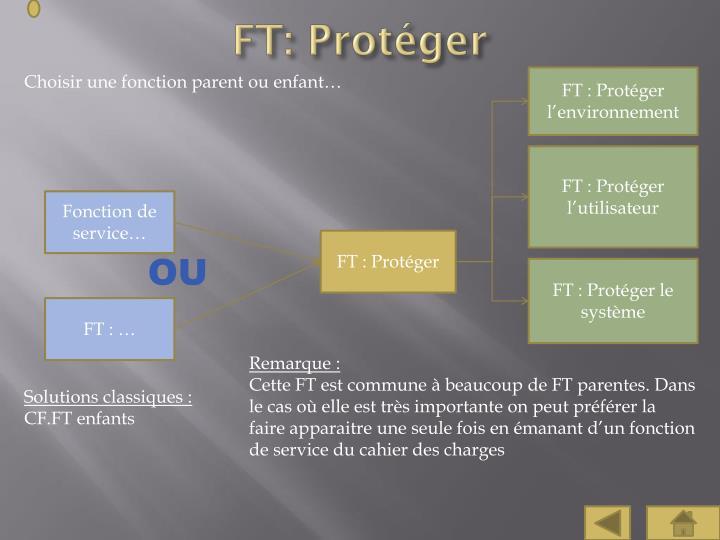 FT: Protéger