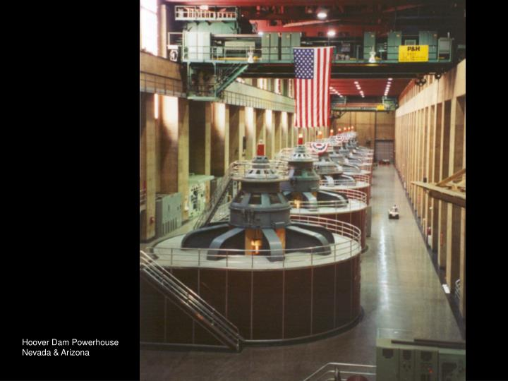 Hoover Dam Powerhouse